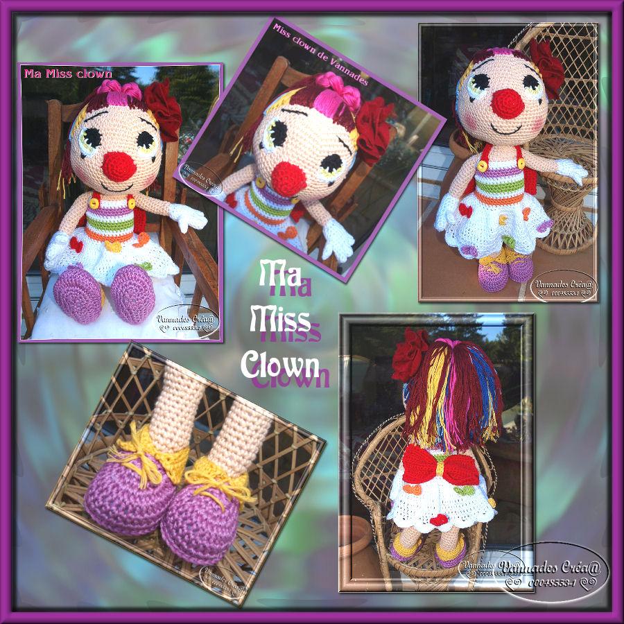"Ma ""Miss Clown"" 658800cramissclowntipi"
