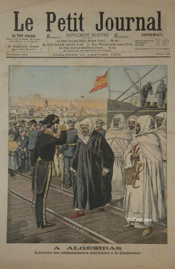 صفحات من تاريخ المغرب الحديث من خلال Le Petit journal illustré 659040pj79221011906