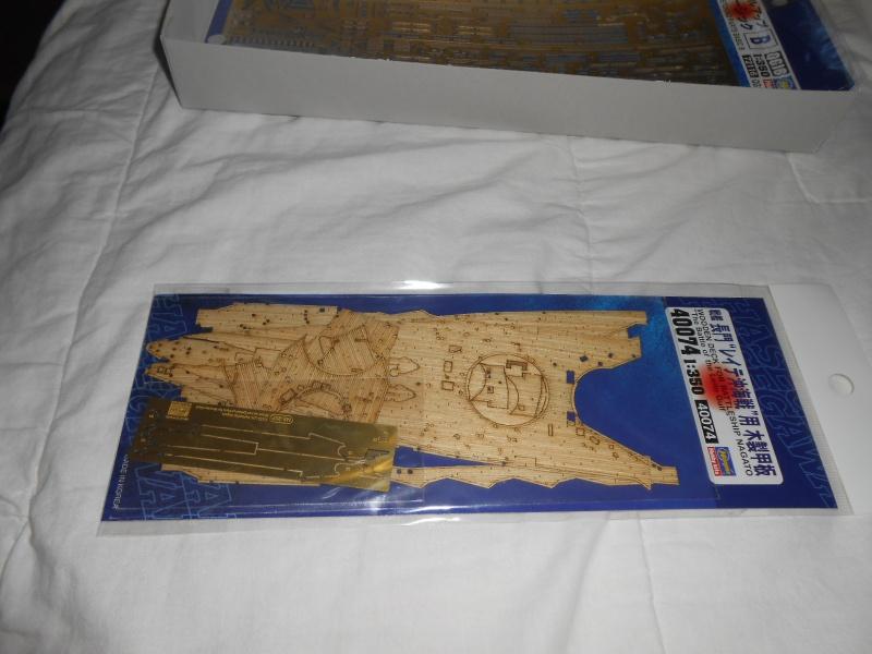 NAGATO Hasegawa 1/350- PE- Ponts en bois 660538DSCN6361
