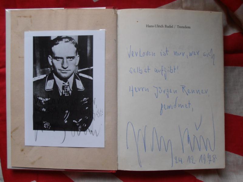 Livre Hans  Ulrich  Rudel avec signature  661735P1170044