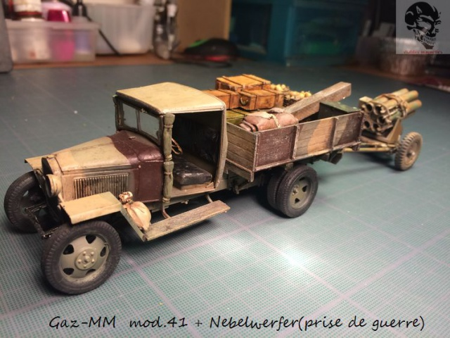 Gaz-MM mod 41 et Nebelwerfer (prise de guerre) - MiniArt + Dragon - 1/35 661920IMG5073