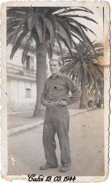 Recherche d'un parent engagé au 1er Bataillon de choc à Staoueli en 1943 :Roger BELLELAGAMBA 662655ANGUILAR