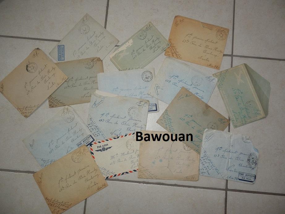 Lot correspondances Caporal infirmier de Tirailleurs 1948-50  663323P6170343