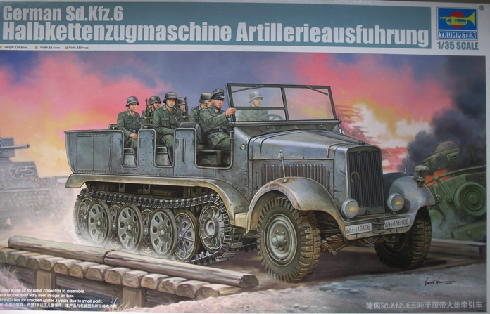 Sd.Kfz 6  Trumpeter 1/35 664134modles124001