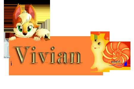 Nombres con  V 6643912Vivian