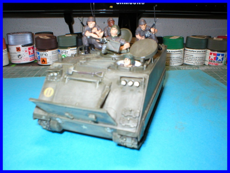 M 113 US ARMOURED PERSONNEL CARRIER 1/35 TAMIYA 665375P1010002800x600