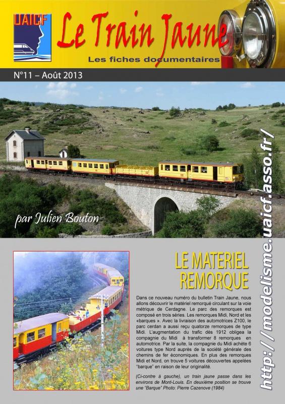 Plan et fiche documentaire remorque train jaune 666148tj11Page1