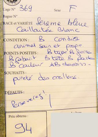 salon de l'Aviculture de Paris du 22/02/2014 au 02/03/214 - Page 5 666545P1130650