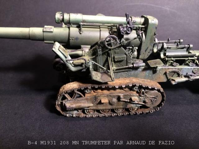 un B-4 M1931 203 mn (le marteau de Staline trumpeter 1/35 667364B41002