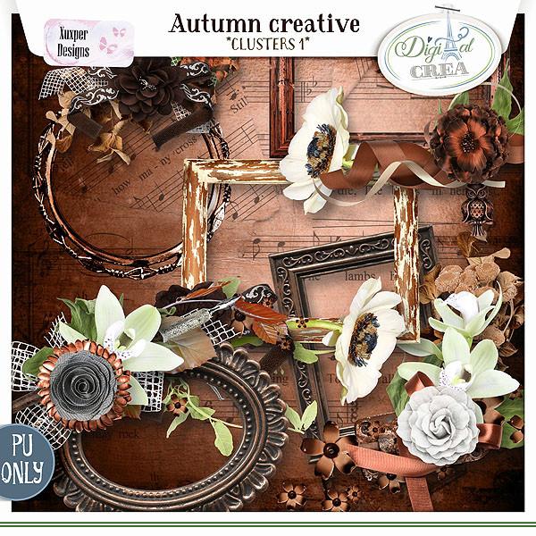 Collection Autumn creative de Xuxper Designs + Promo 667610595