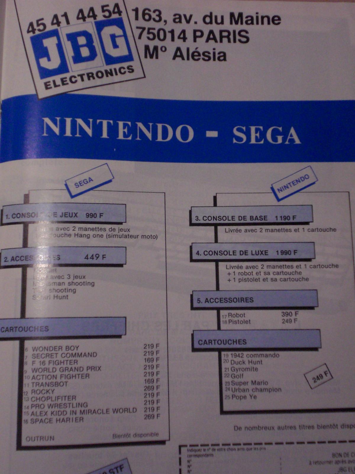 Toutes les consoles sorties en France : établissement d'une liste 668009CIMG5941