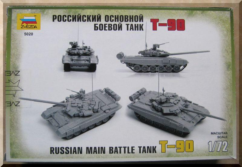 T-90 Zvezda 1/72ème 668089Enversbote
