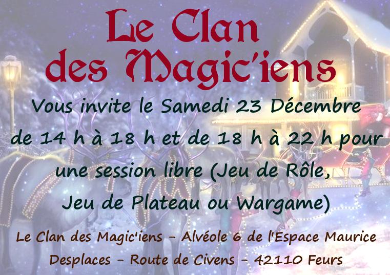 Samedi 23 Décembre - Jeu de Rôle ou Jeu de Plateau ou Sortie de rattrapage Star Wars 668239carton231217