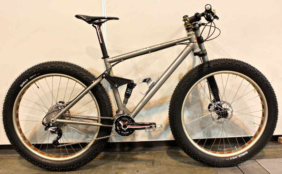 Ti cycles 668412TiCyclesFullSuspentionFatBike