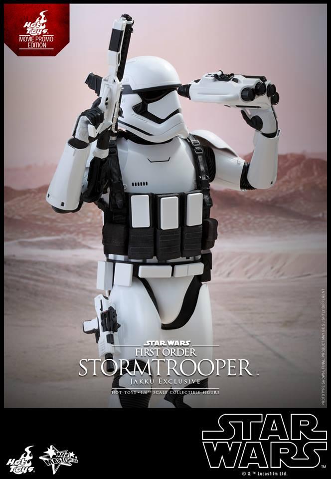 HOT TOYS - Star Wars: TFA - First Order Stormtrooper Jakku  668489112