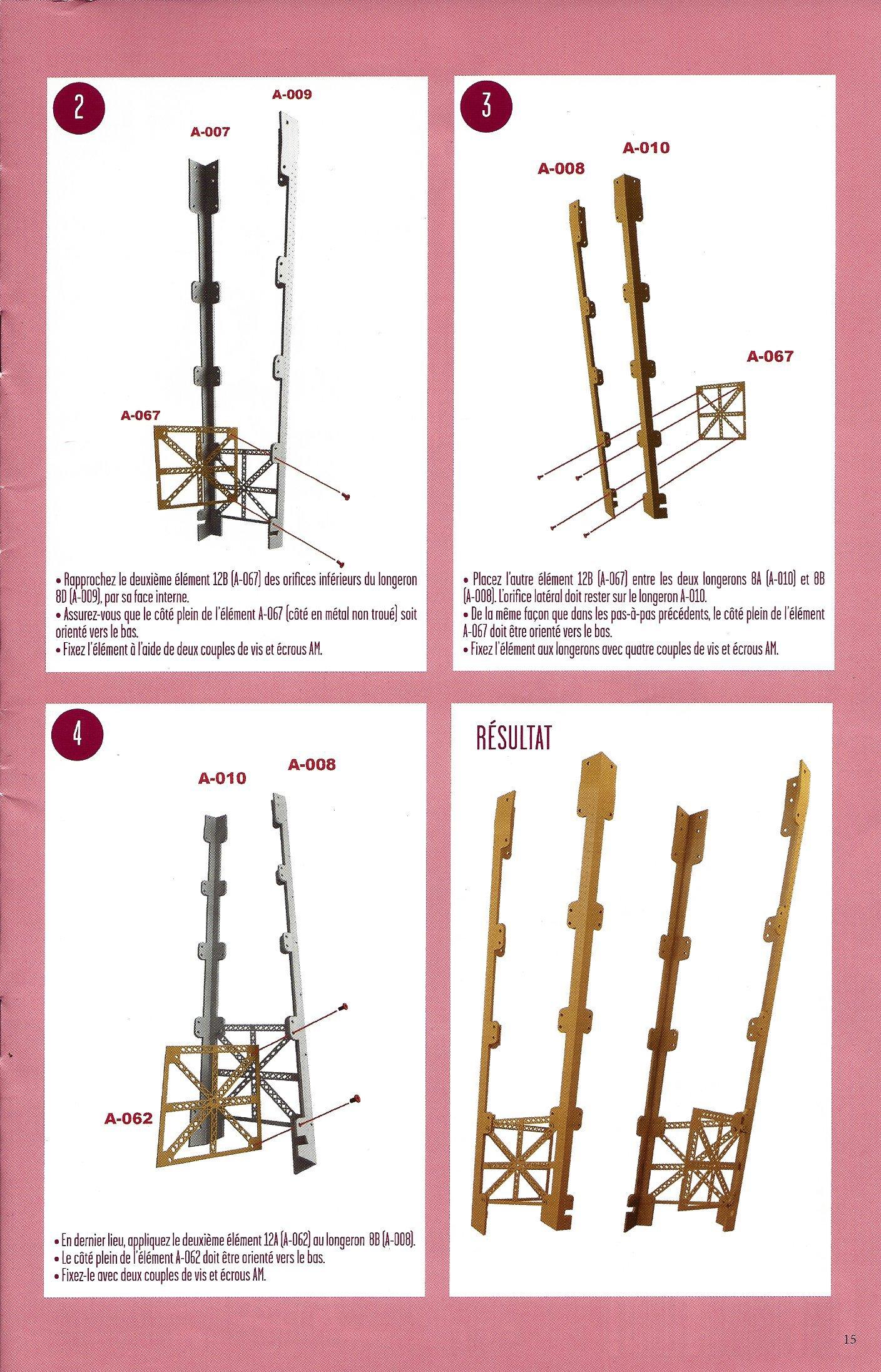 Numéro 12 - Je construis la Tour Eiffel - Le symbole de Paris et de la France 66911112c