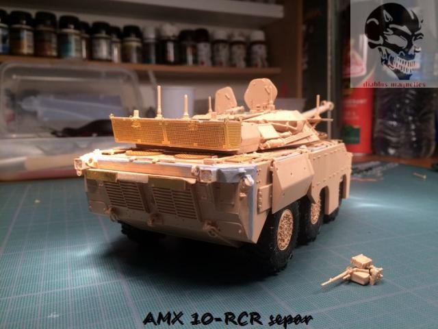 AMX 10 RCR SEPAR maquette Tiger Model 1/35 671001IMG3797