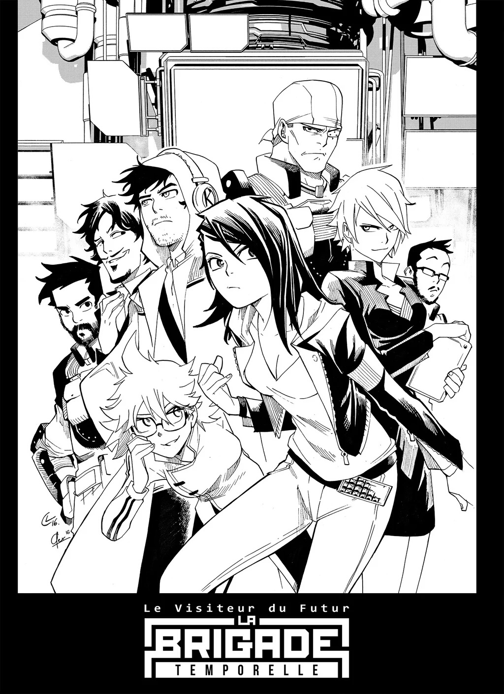 Le manga du Visiteur du Futur : La Brigade Temporelle 671302IMG20160502140452