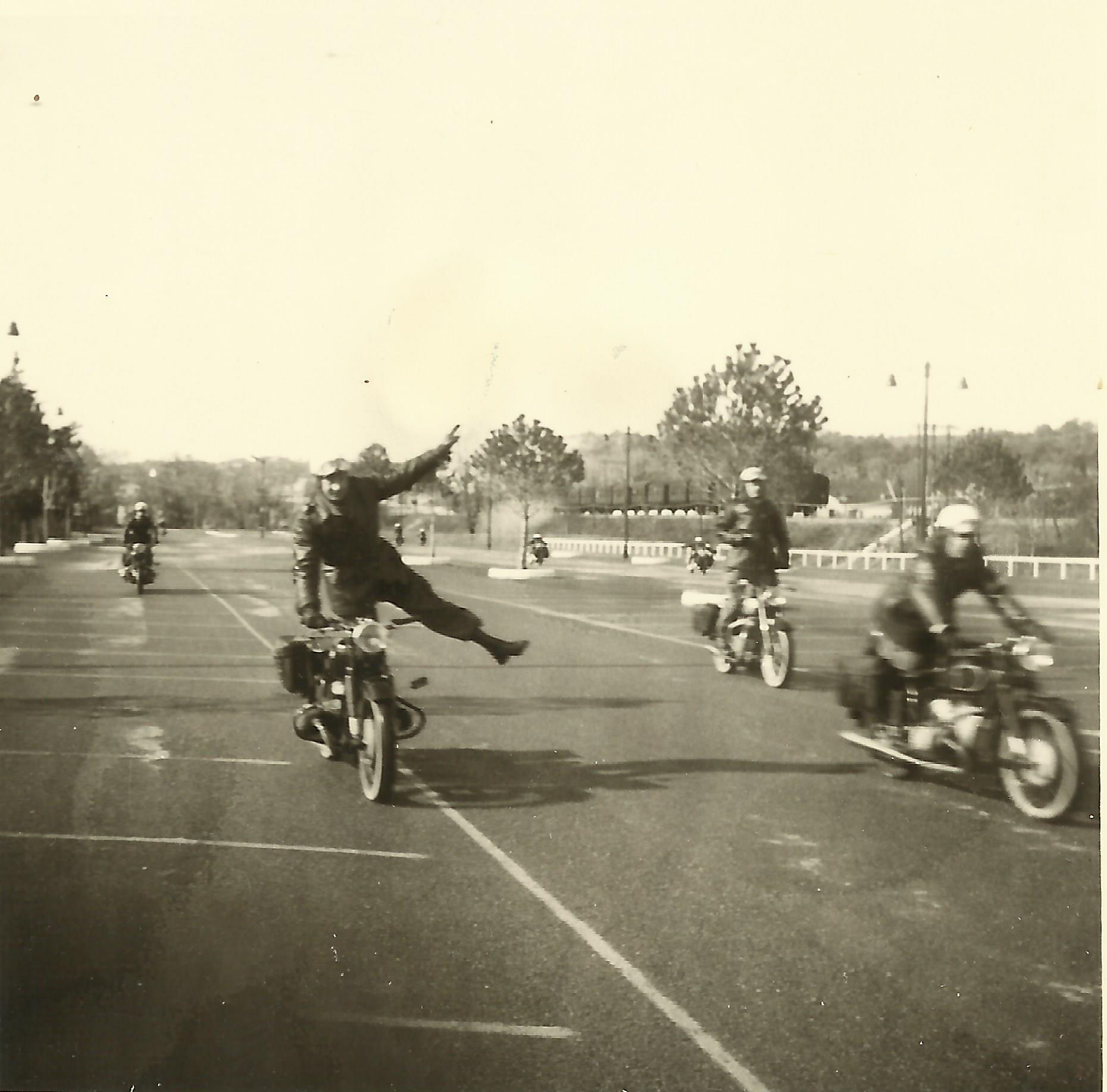 Photos Gendarmerie, BMO de Hyeres  années 1960 672130BMO005