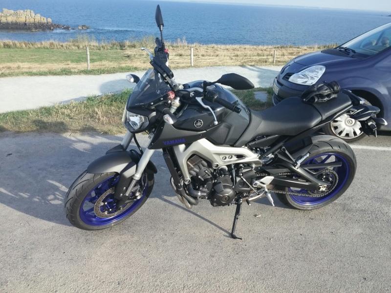Photos de toutes les Yamaha MT-09 du forum ! :) 672659YGreg94