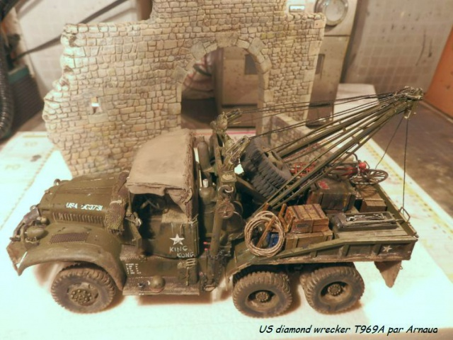 US Diamond T969A wrecker (Mirror Models 1/35) - Page 4 673400P2020112