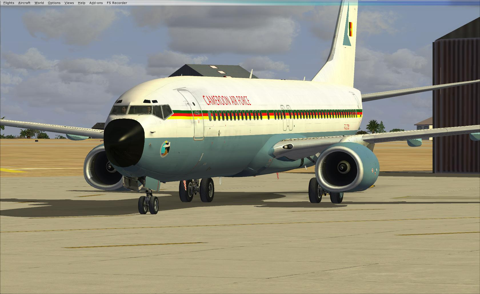 738 ngx cameroon air force 676291fsx2013071309412297