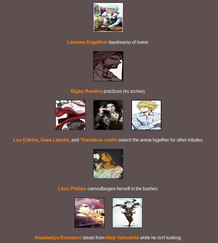 Quederla's Hunger Games 677766Day42