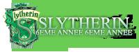 Slytherin 6ème année