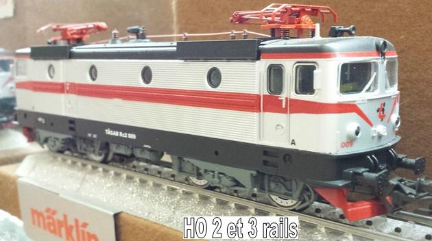 Machines RC des chemins de fer suédois 678207Marklin37719RC2R