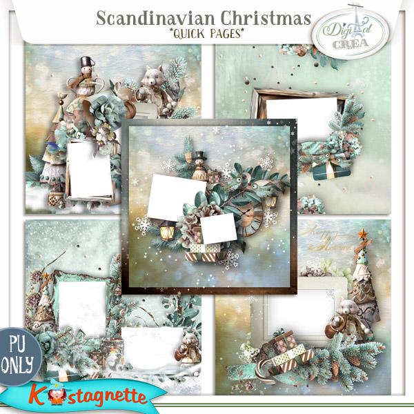 Collection Scandinavian Christmas de Kastagnette + Promo et freebie 678220423