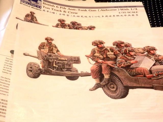 6 pdr ,jeep ,équipage airborne Bronco 1/35 (sur la route de Ouistreham) 679736P5010417