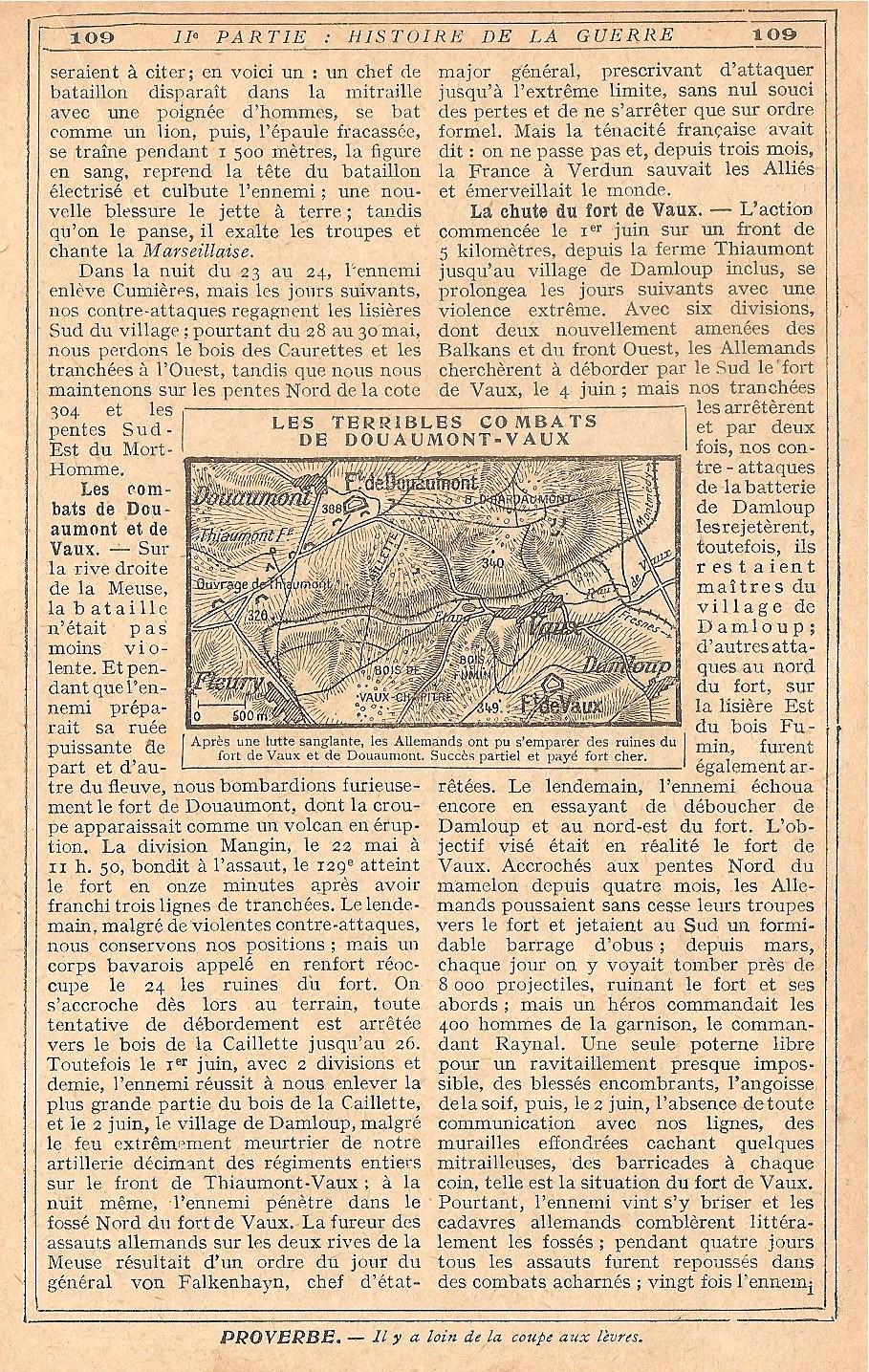 [HISTOIRES ET HISTOIRE] [SUJET UNIQUE] LE CENTENAIRE DE LA GRANDE GUERRE - Page 5 680408Verdun12