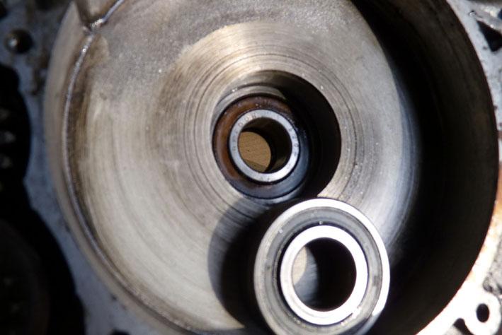 MZ 125 TS changement de roulements d'une MZ 125TS 681663P1030115