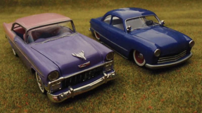 #47 : Chevy bel air 56 custom (TERMINEE) 681718992