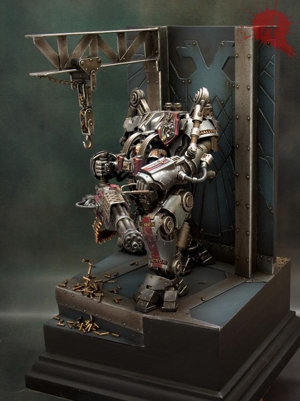 "Grey Knights Nemesis Dreadknight by Javier González ""Arsies"" 681858NemesisDreadknight3"