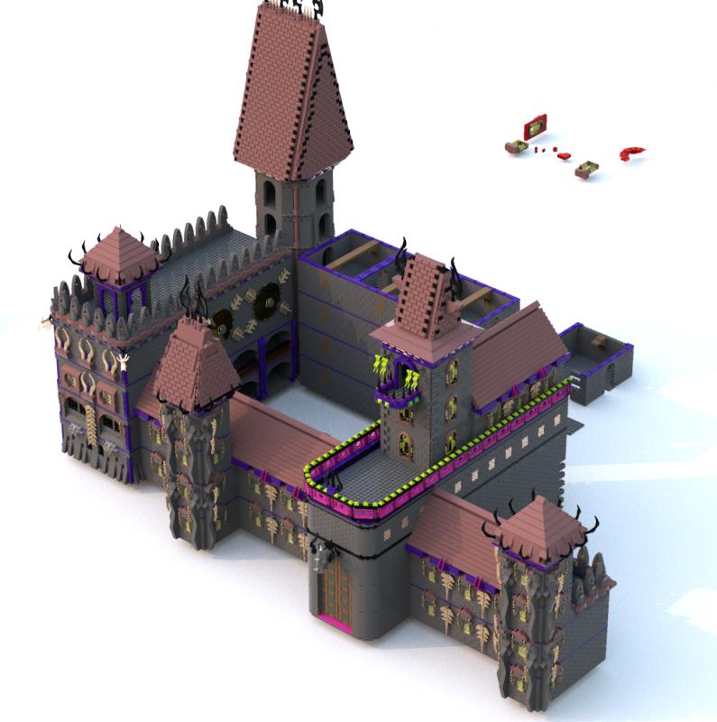 [MOC][LDD]Chateau de Ragana 6818834118010