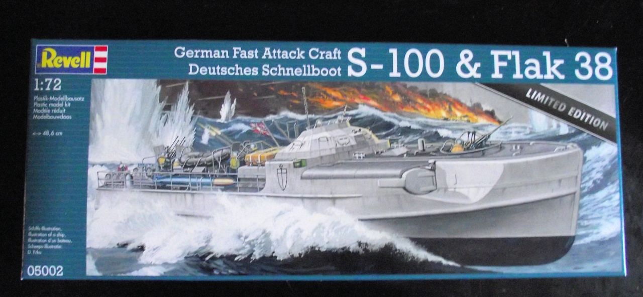 Schnellboat S100 Revell au 1x72 Limited Edition 682093SchnellboatS1002