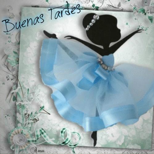 Bailarina con Tutú Celeste  683648tardes