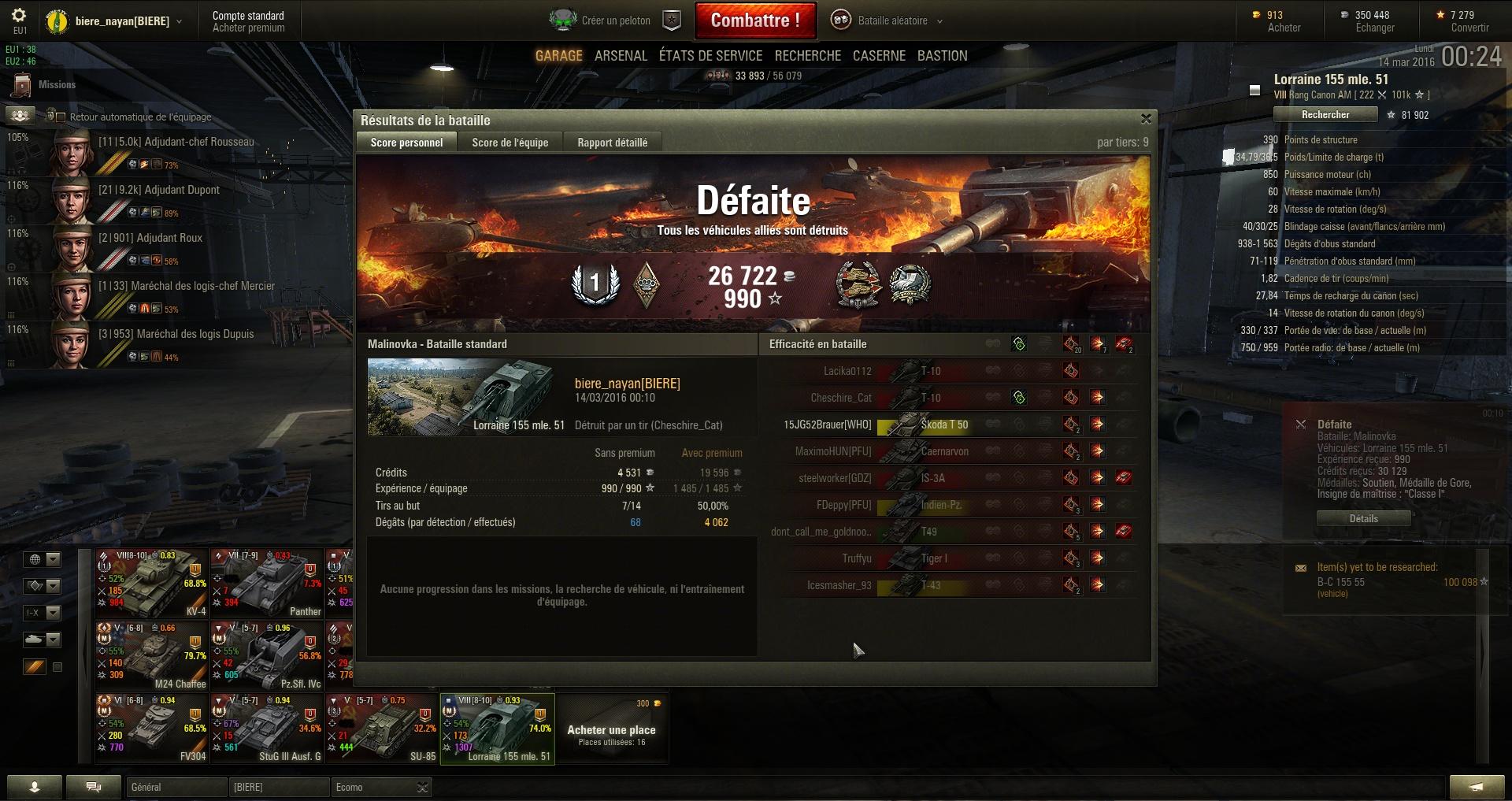 Screenshots et rapports de batailles - Page 2 684623shot009
