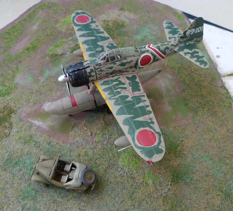 "[Hasegawa] - Nakajima A6M2 N ""Rufe"". 685165Rufe36"