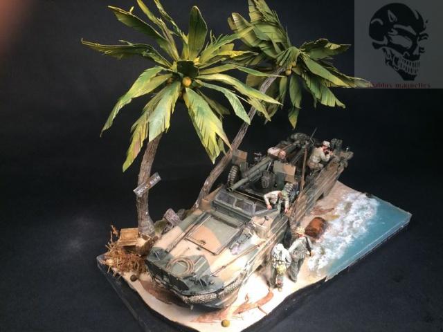 Dukw avec 105 mn a Saipan terminé 685489IMG4641