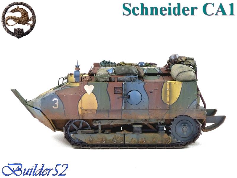 CHAR SCHNEIDER CA 1 - HOBBY BOSS 1/35 685802P1050073