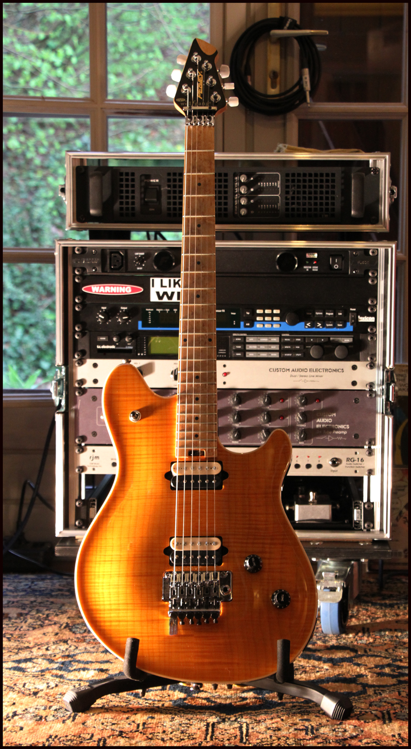 """Peavey Wolfgang Archtop Amber """"Tiger"""" 68657567p1"""