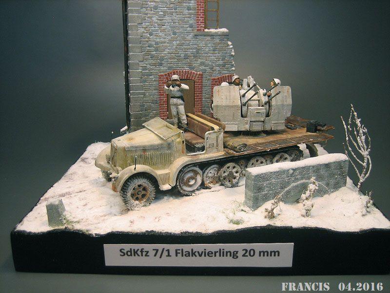 SdKfz 7/1 Flakvierling - Tamiya Miniart 1/35 687494Dio3701SdKfz71Vierli