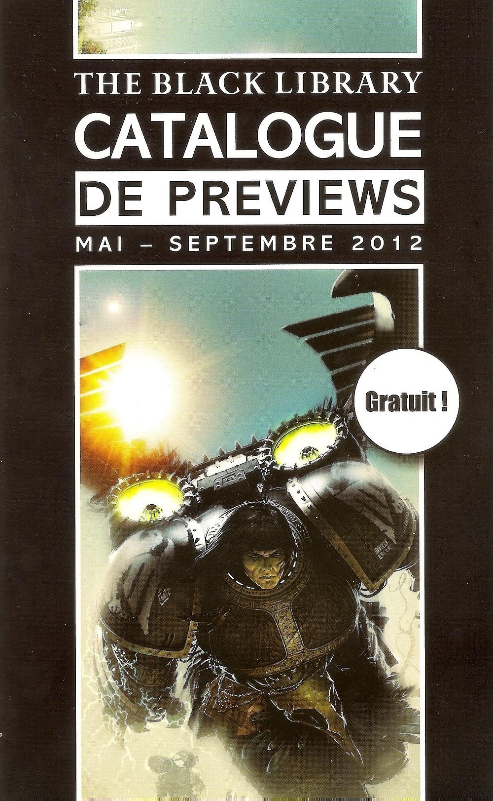 Programme des publications Black Library France de janvier à décembre 2012 - Page 16 688485Catmai1A
