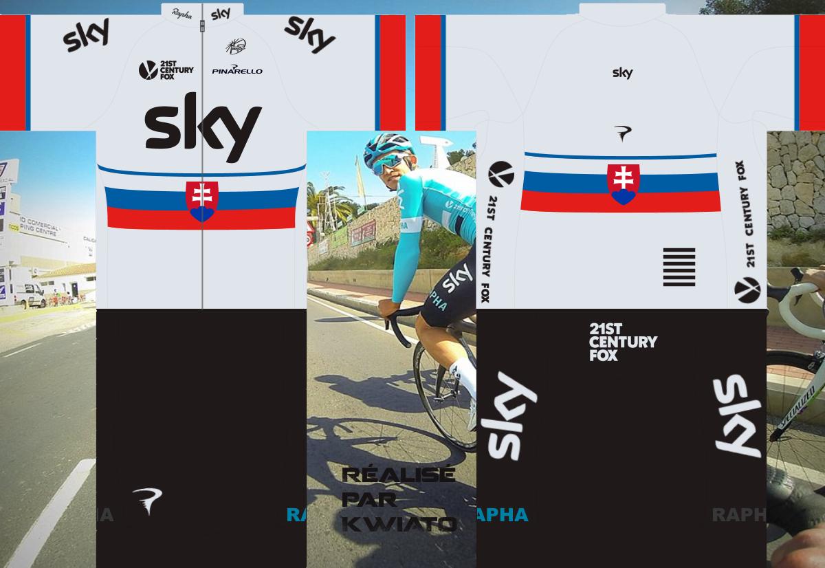 SKY Pro Cycling 688567skymaillotsvk