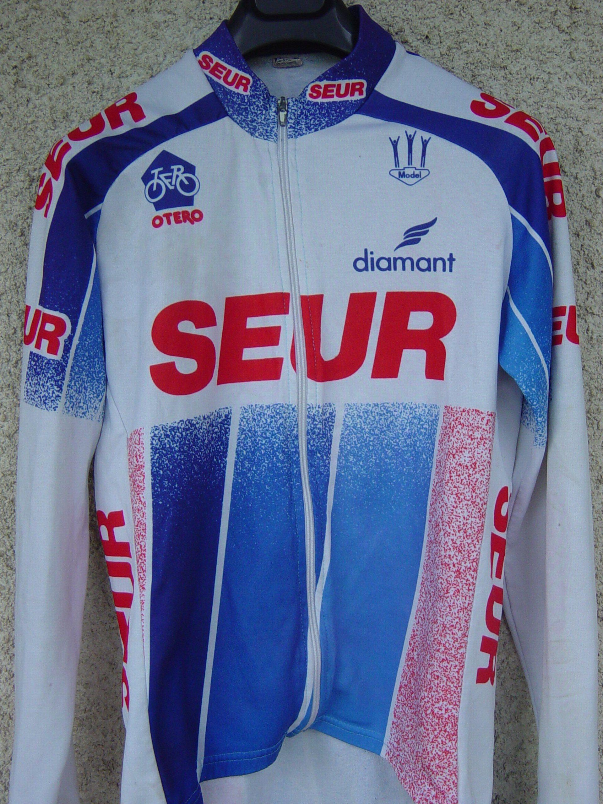 Vélo OTERO 1992 688852MaillotSEUR1992