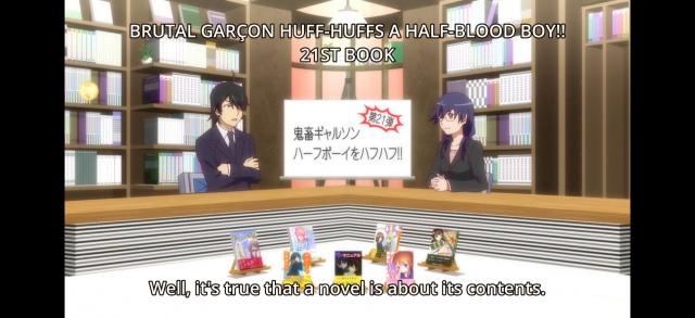 [2.0] Caméos et clins d'oeil dans les anime et mangas!  - Page 9 690771HorribleSubsOwarimonogatari101080pmkvsnapshot192420151205210541