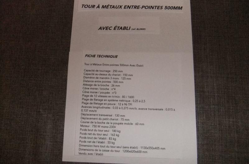 La mise en service de mon tour Acimex BL250D 690987DSCF8011