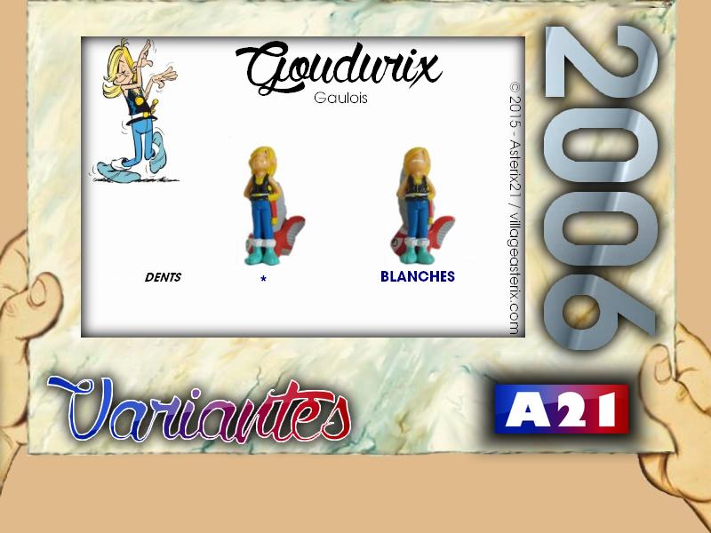 Astérix® les Variantes d'Hier et d'Aujourd'hui [Le Catalogue] 692834MarbreVariantesKinder2006Goudurix